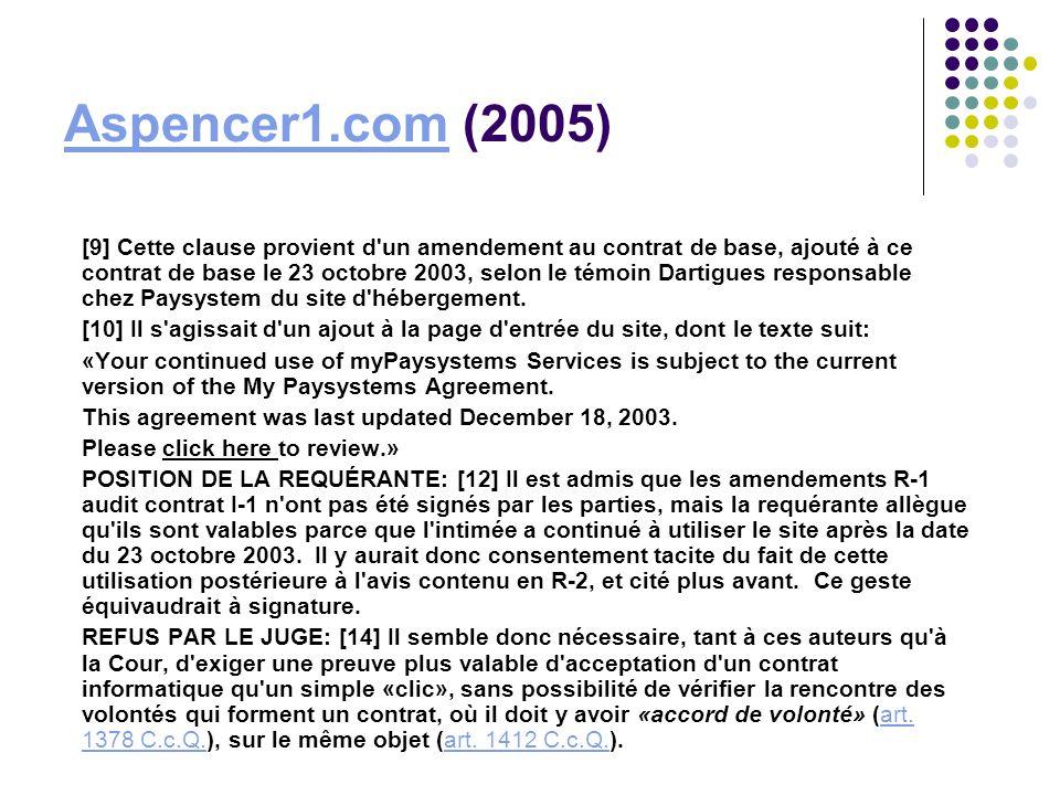 Aspencer1.com (2005)