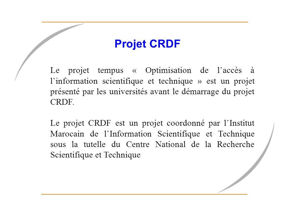 Projet CRDF
