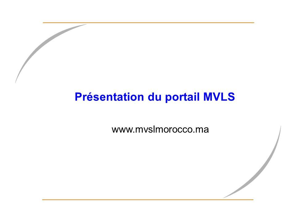 Présentation du portail MVLS
