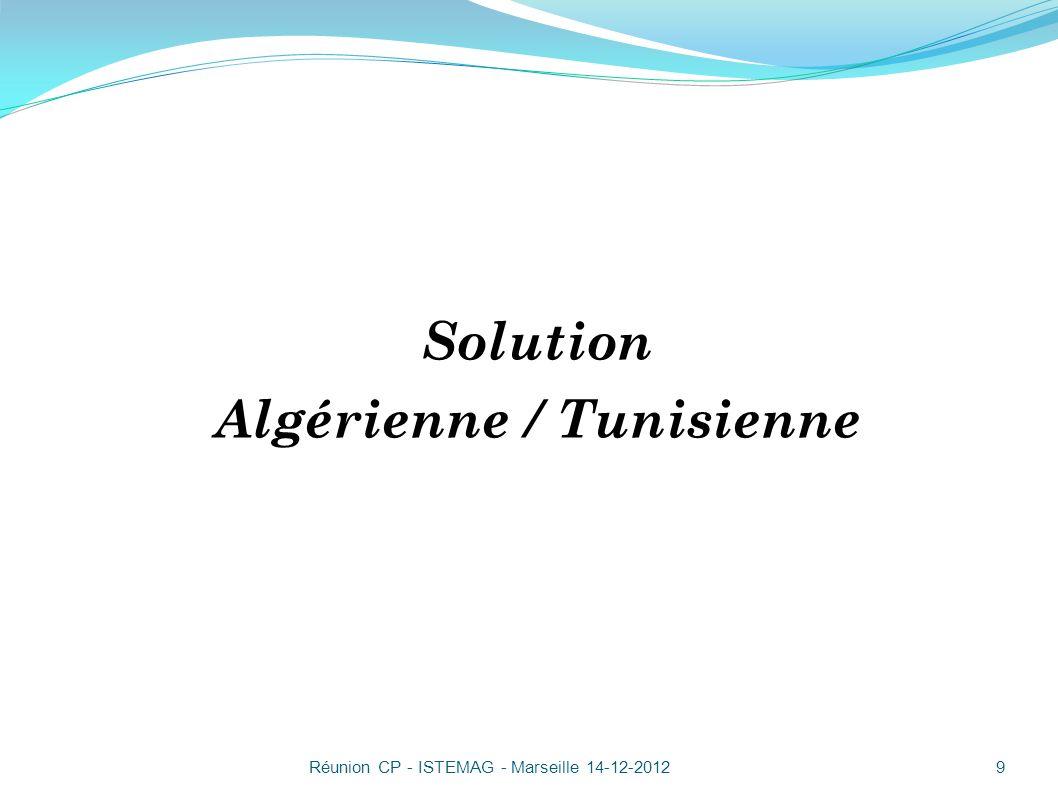 Algérienne / Tunisienne