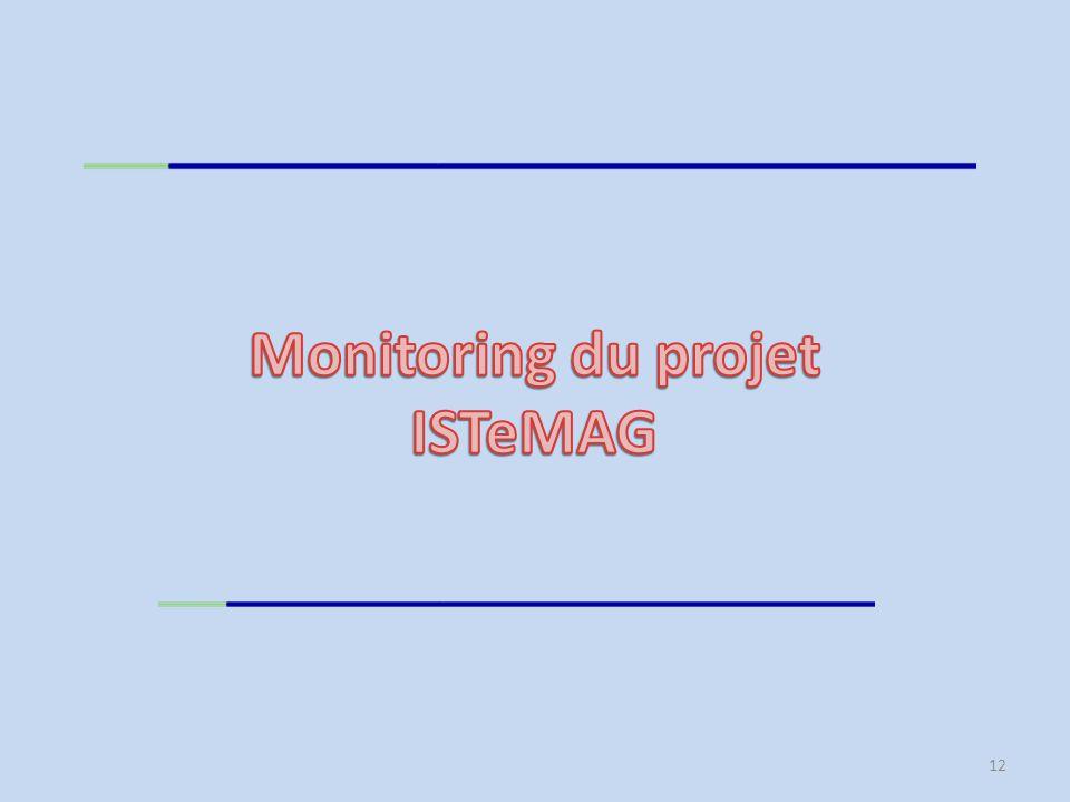 Monitoring du projet ISTeMAG