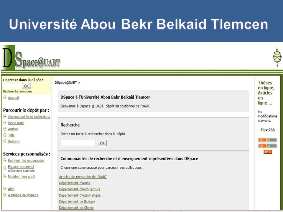 Université Abou Bekr Belkaid Tlemcen