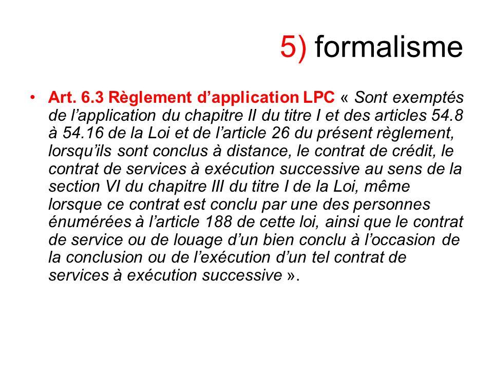 5) formalisme