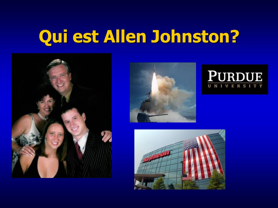 Qui est Allen Johnston