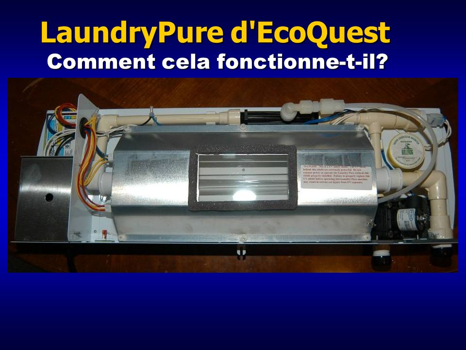LaundryPure d EcoQuest Comment cela fonctionne-t-il