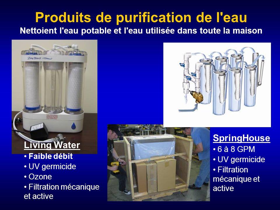 Produits de purification de l eau