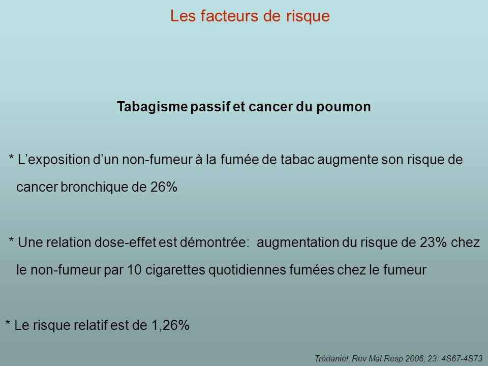 Tabac : le cancer du sein en photo - CAT-Basset