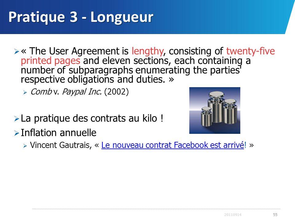 Pratique 3 - Longueur