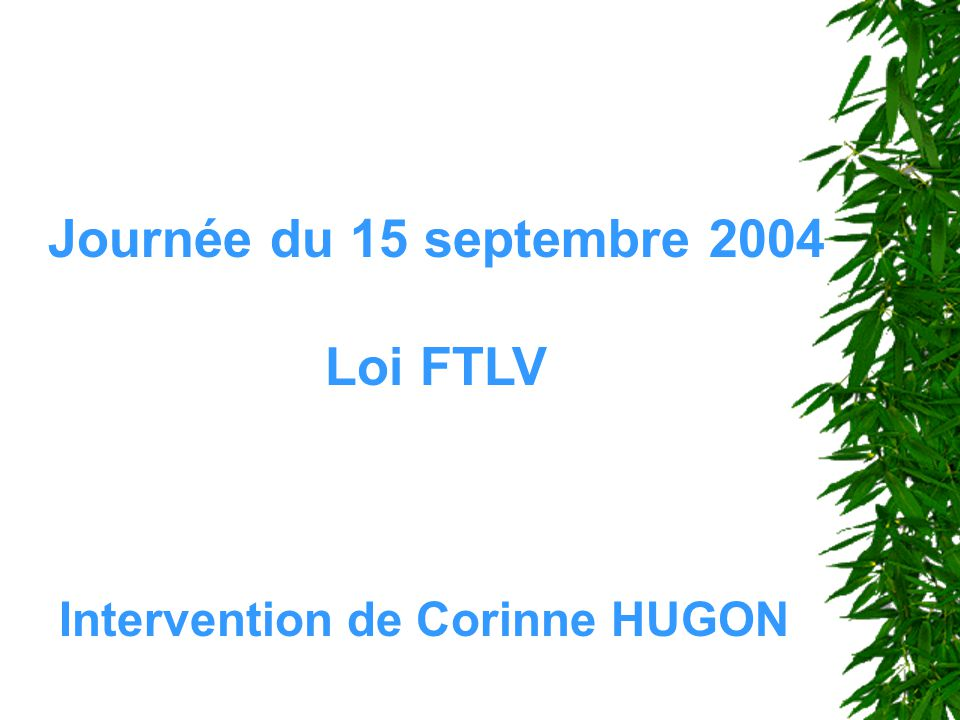 Intervention de Corinne HUGON