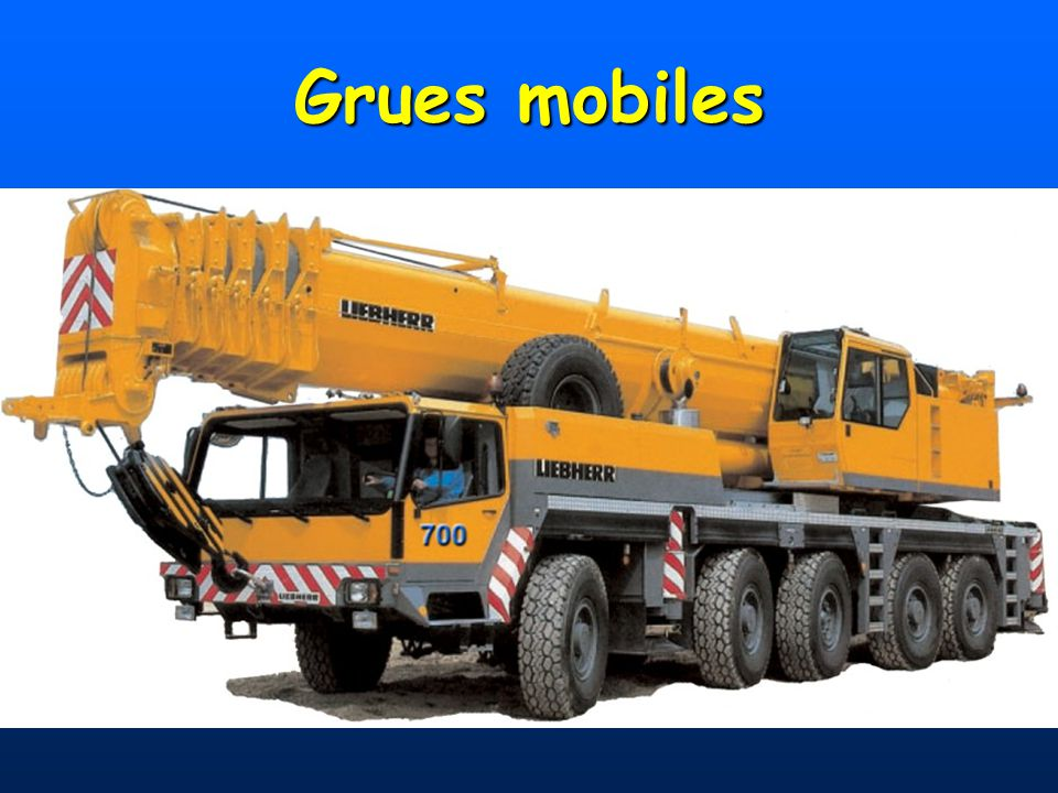Grues mobiles