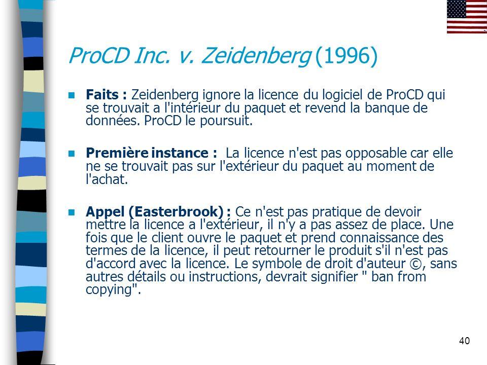ProCD Inc. v. Zeidenberg (1996)