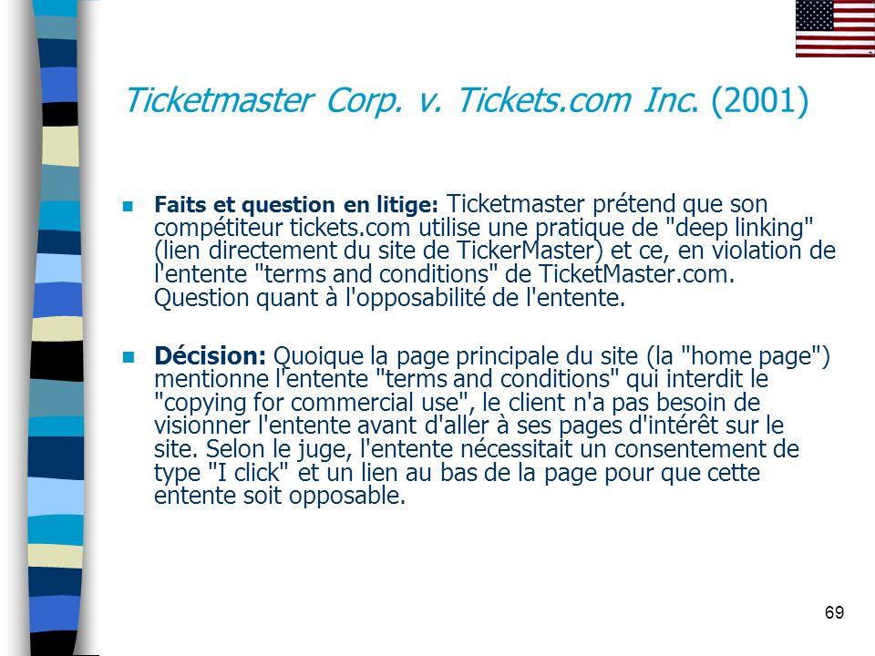 Ticketmaster Corp. v. Tickets.com Inc. (2001)
