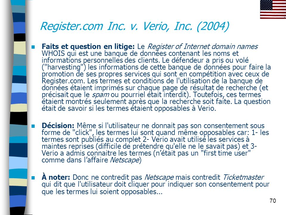 Register.com Inc. v. Verio, Inc. (2004)