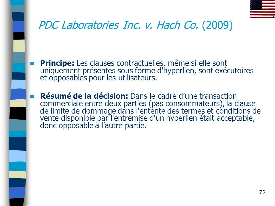 PDC Laboratories Inc. v. Hach Co. (2009)
