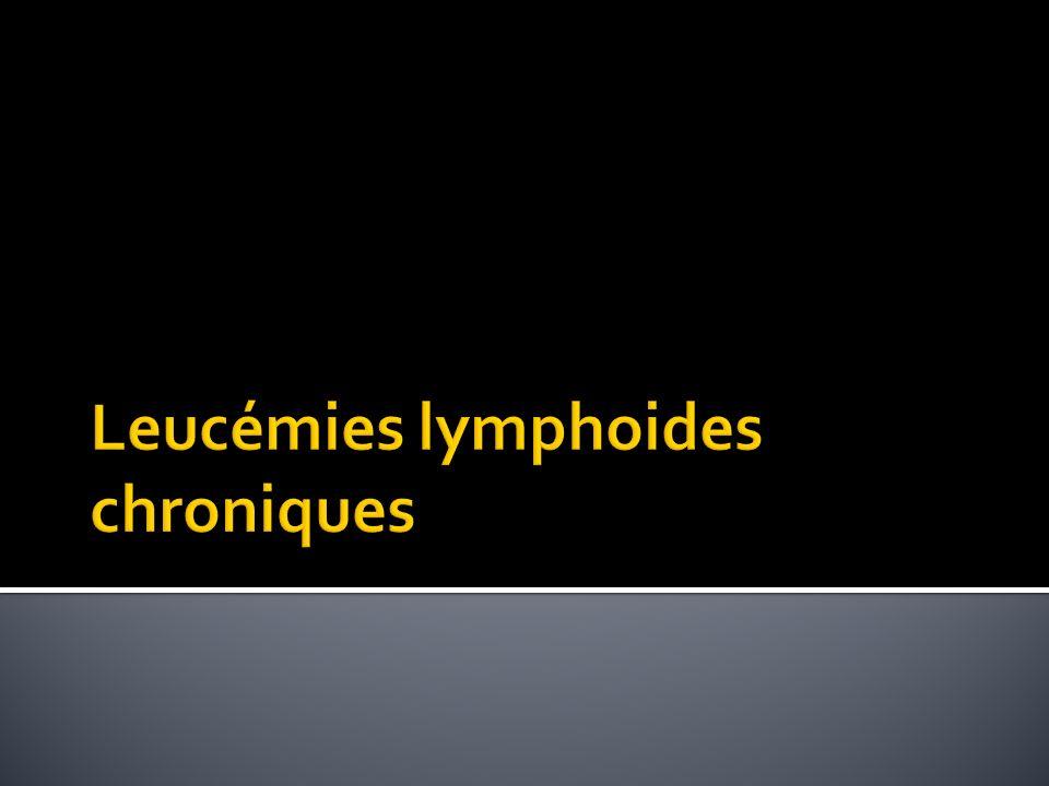 Leucémies lymphoides chroniques
