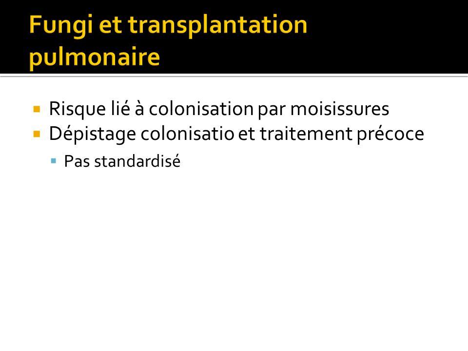 Fungi et transplantation pulmonaire