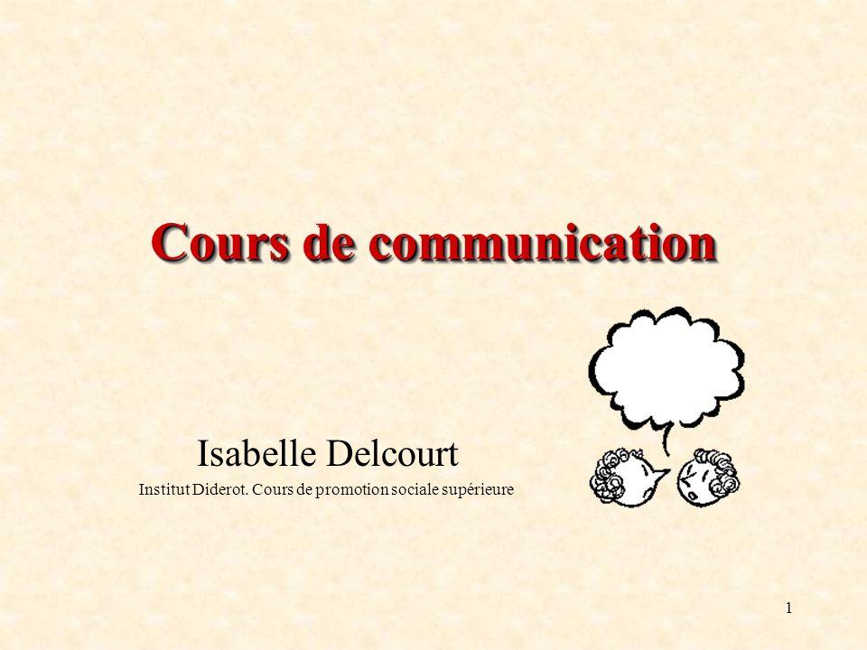 Cours de communication