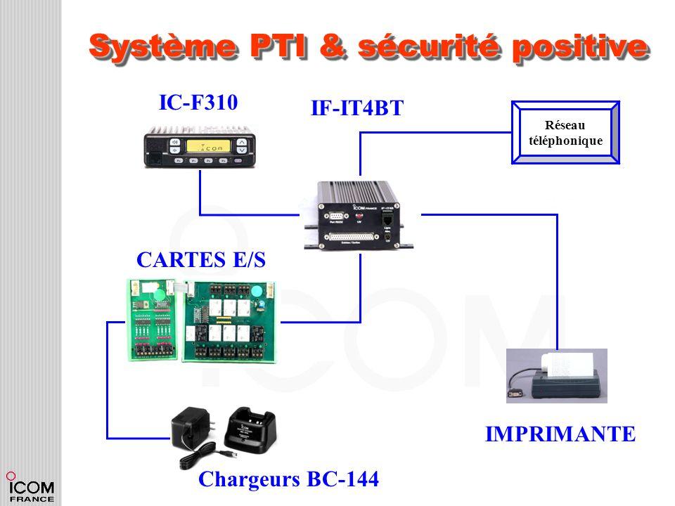 Système PTI & sécurité positive
