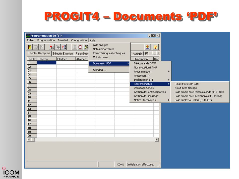 PROGIT4 – Documents 'PDF'