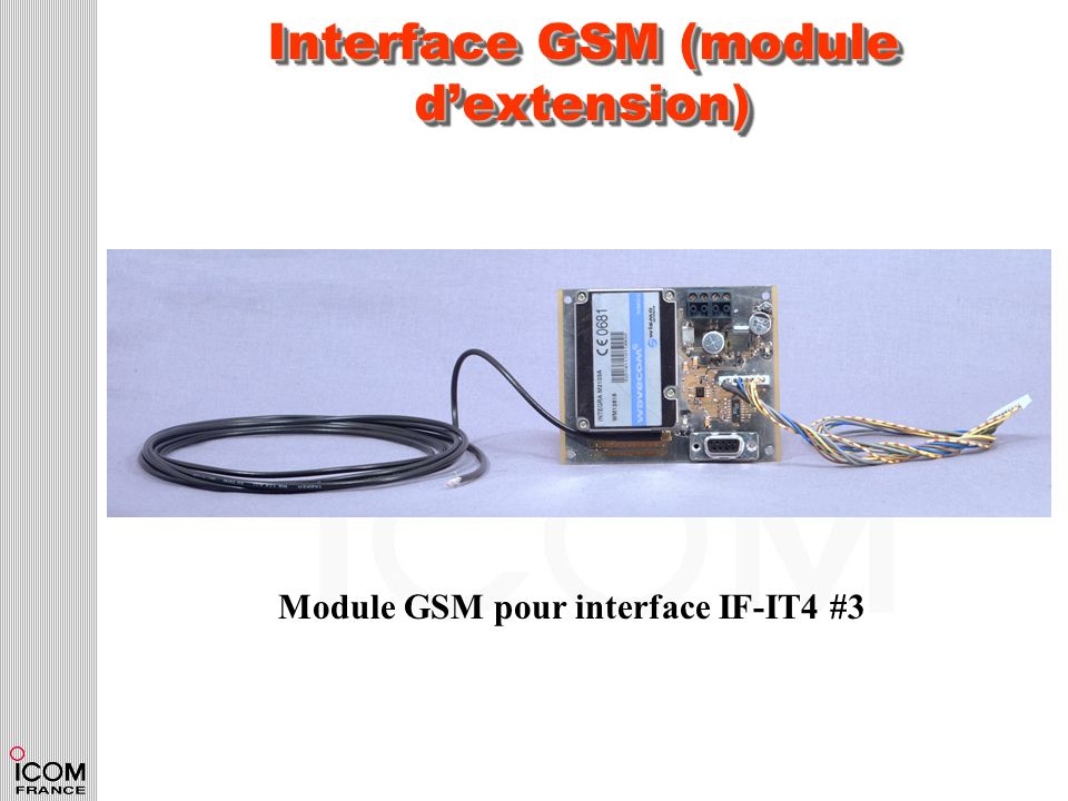 Interface GSM (module d'extension)