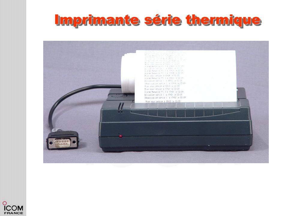 Imprimante série thermique