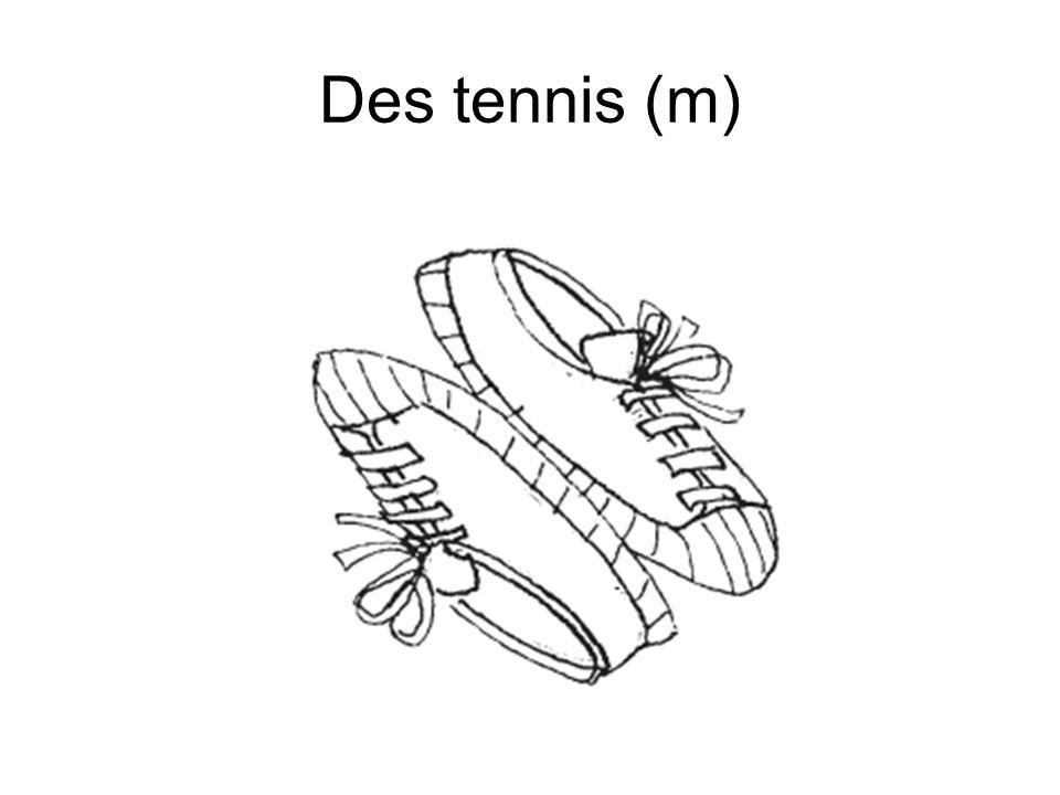 Des tennis (m)