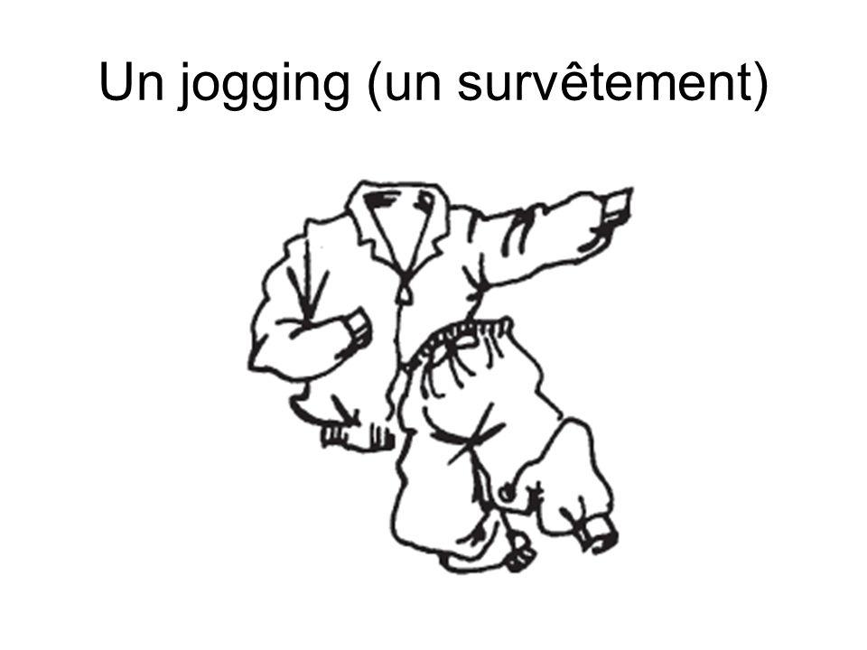 Un jogging (un survêtement)
