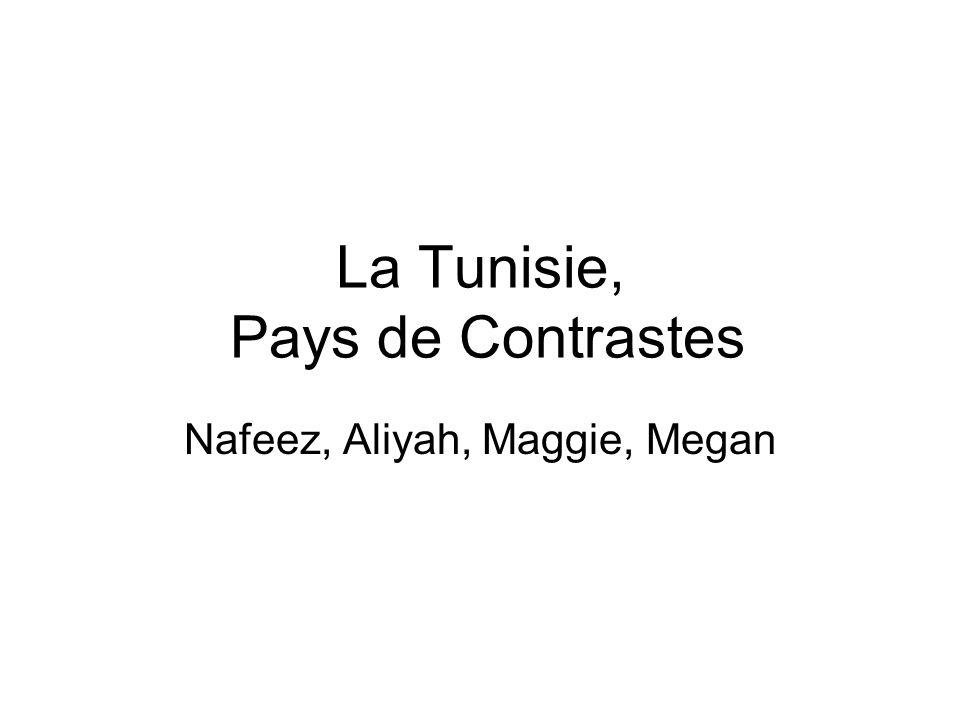 La Tunisie, Pays de Contrastes