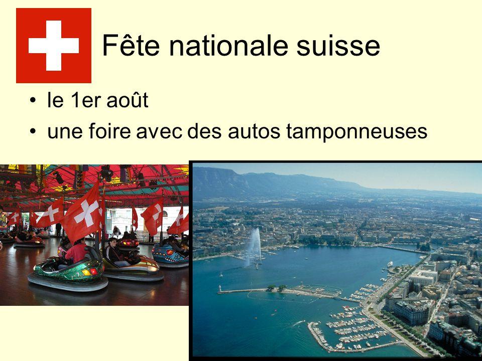 Fête nationale suisse le 1er août