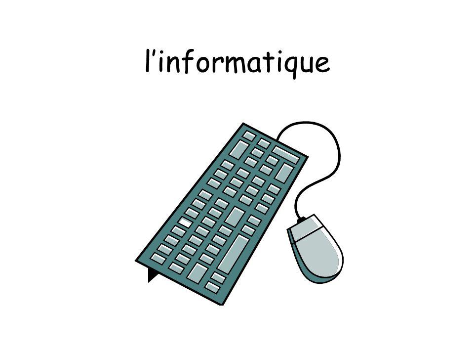 l'informatique