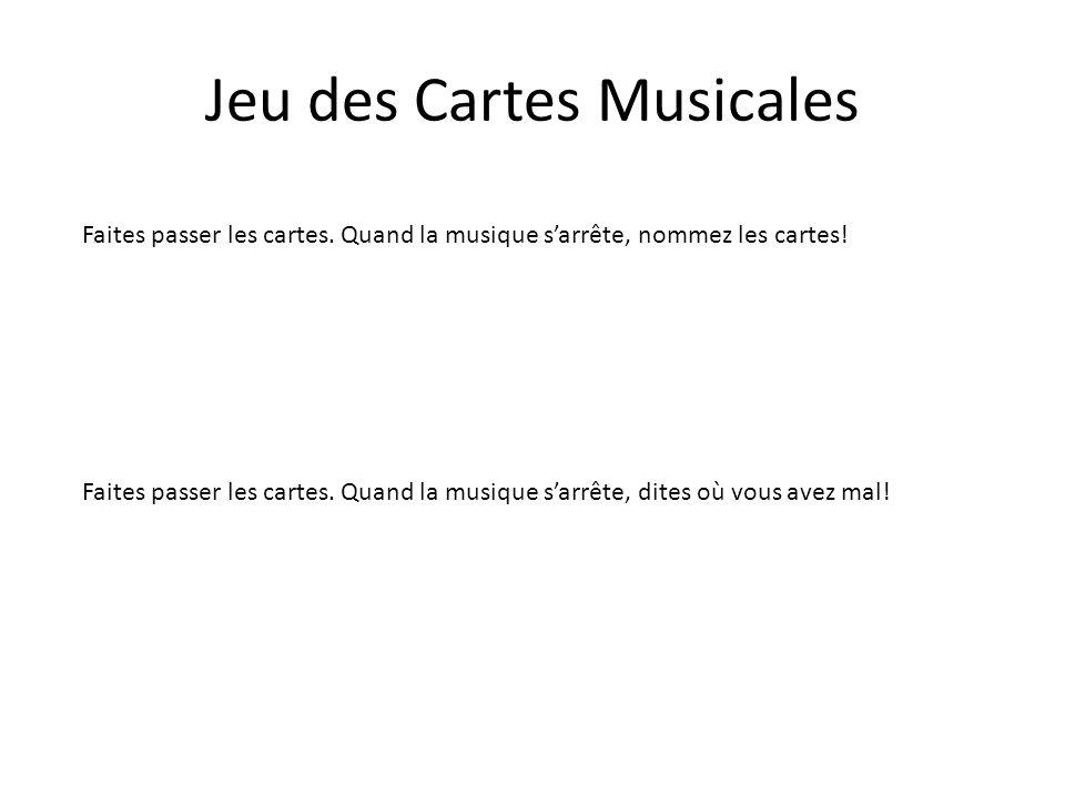 Jeu des Cartes Musicales