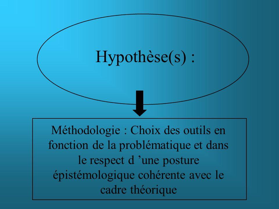 Hypothèse(s) :