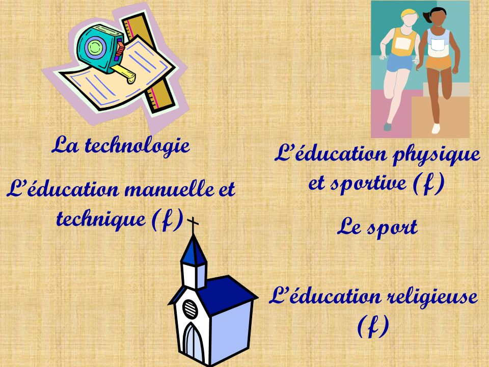 L'éducation manuelle et technique (f)
