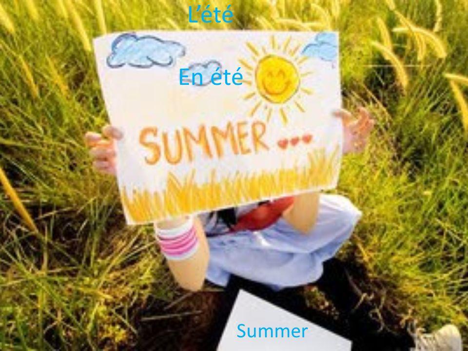 L'été En été Summer