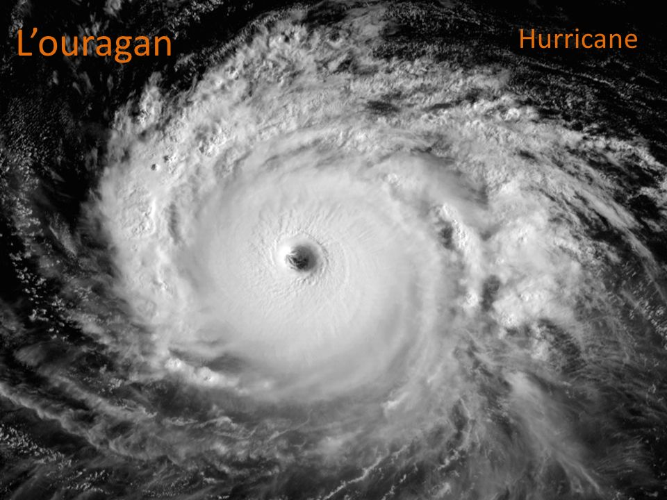 L'ouragan Hurricane