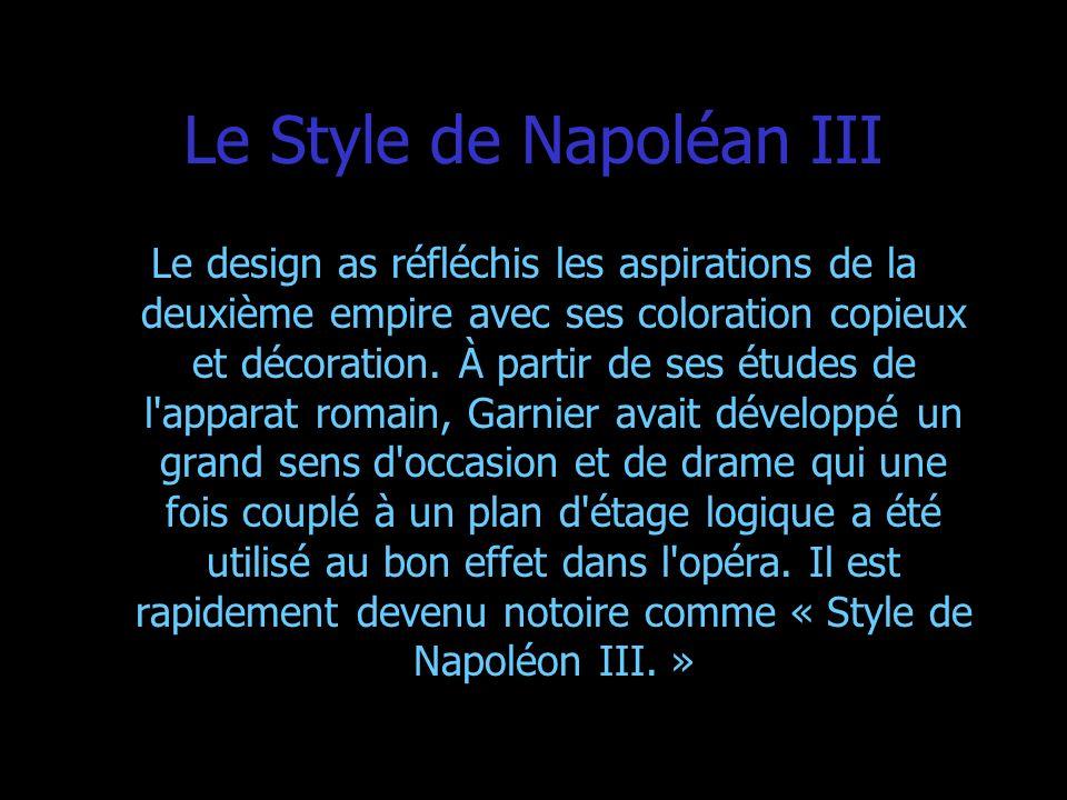 Le Style de Napoléan III