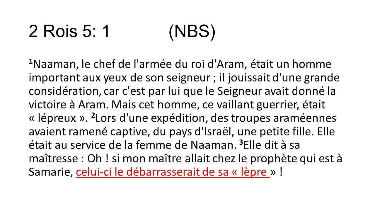 2 Rois 5: 1 (NBS)