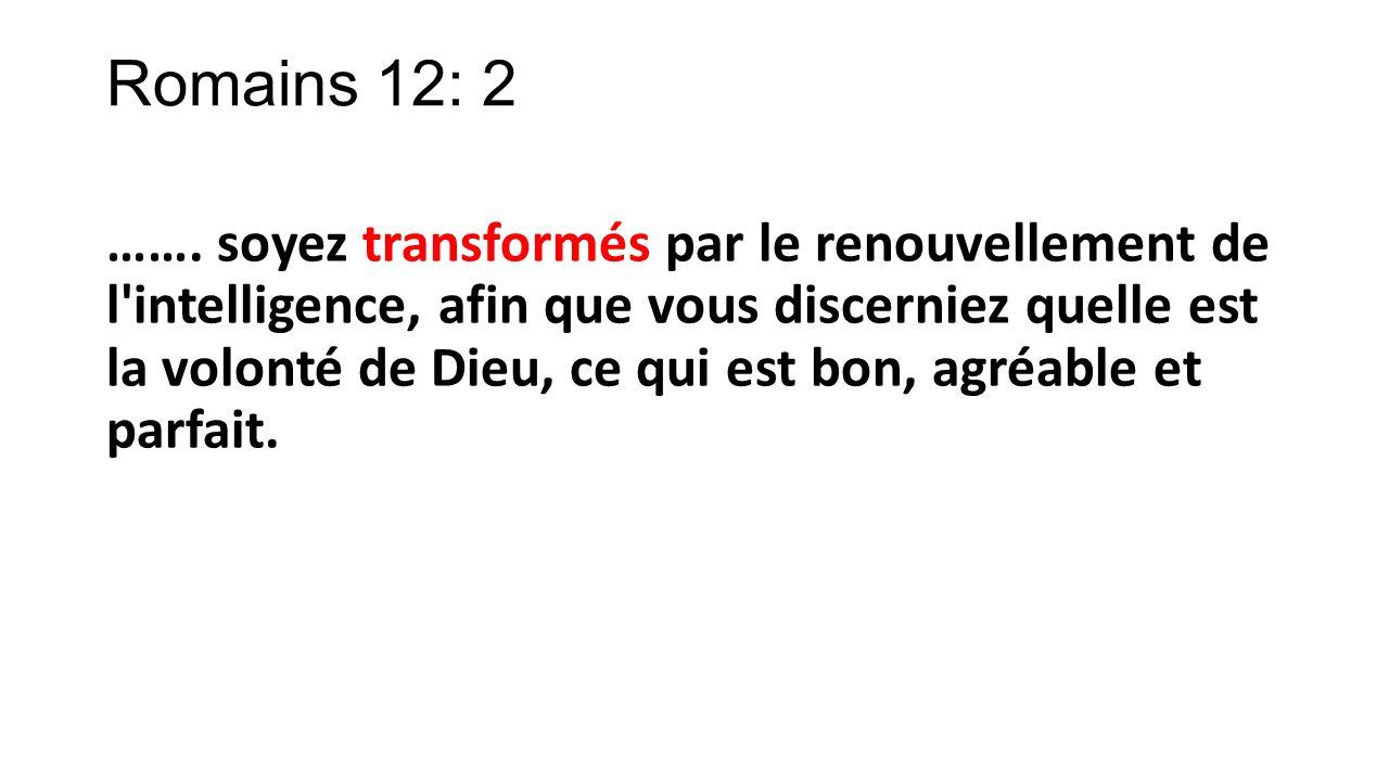 Romains 12: 2