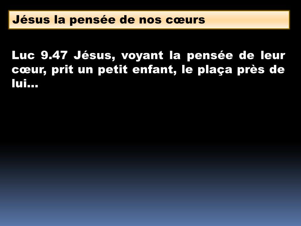 Jésus la pensée de nos cœurs