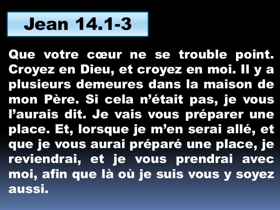 Jean 14.1-3