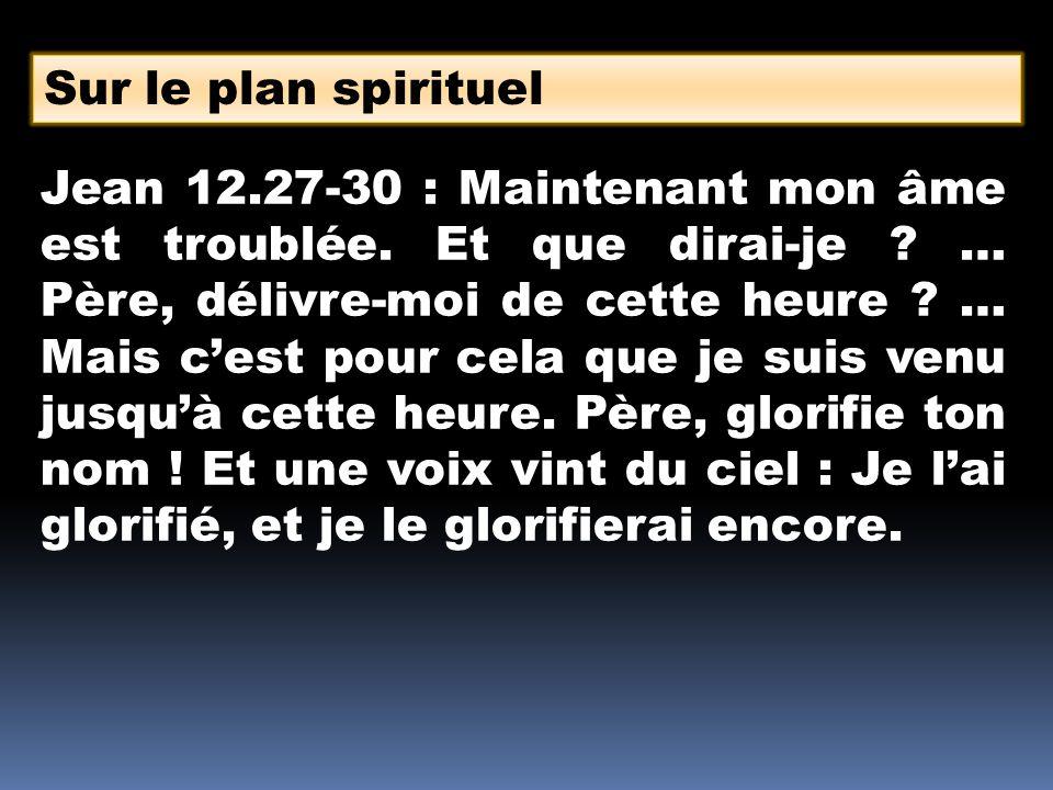 Sur le plan spirituel