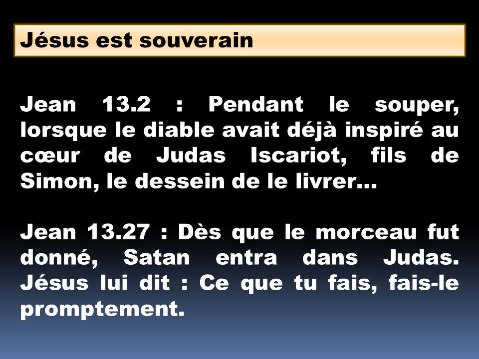 Jésus est souverain
