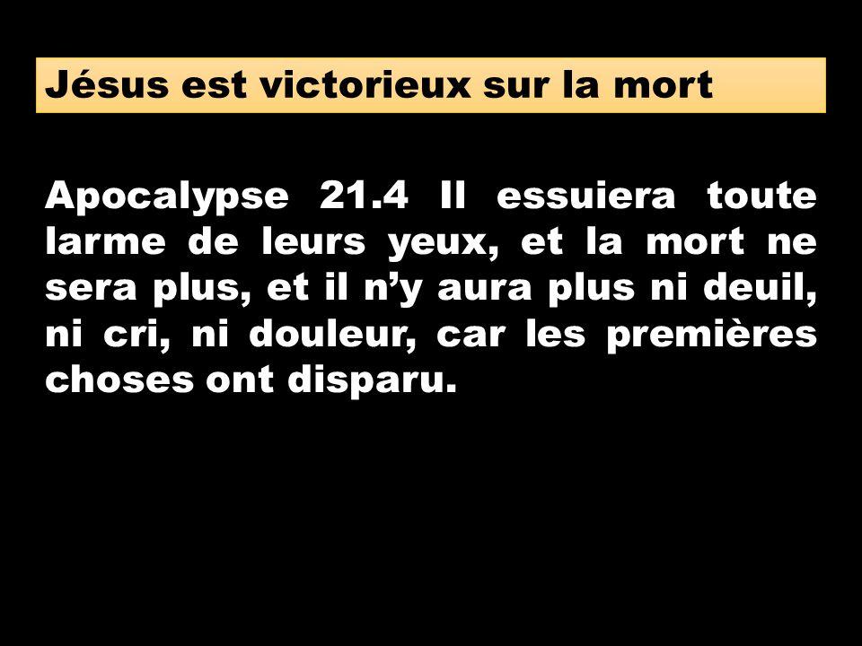 Jésus est victorieux sur la mort