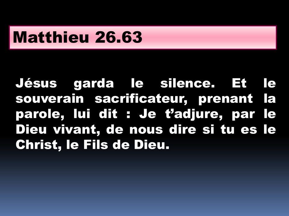 Matthieu 26.63