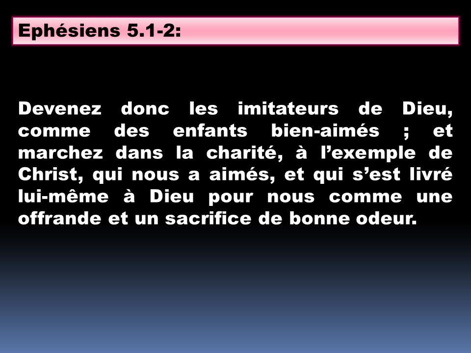 Ephésiens 5.1-2: