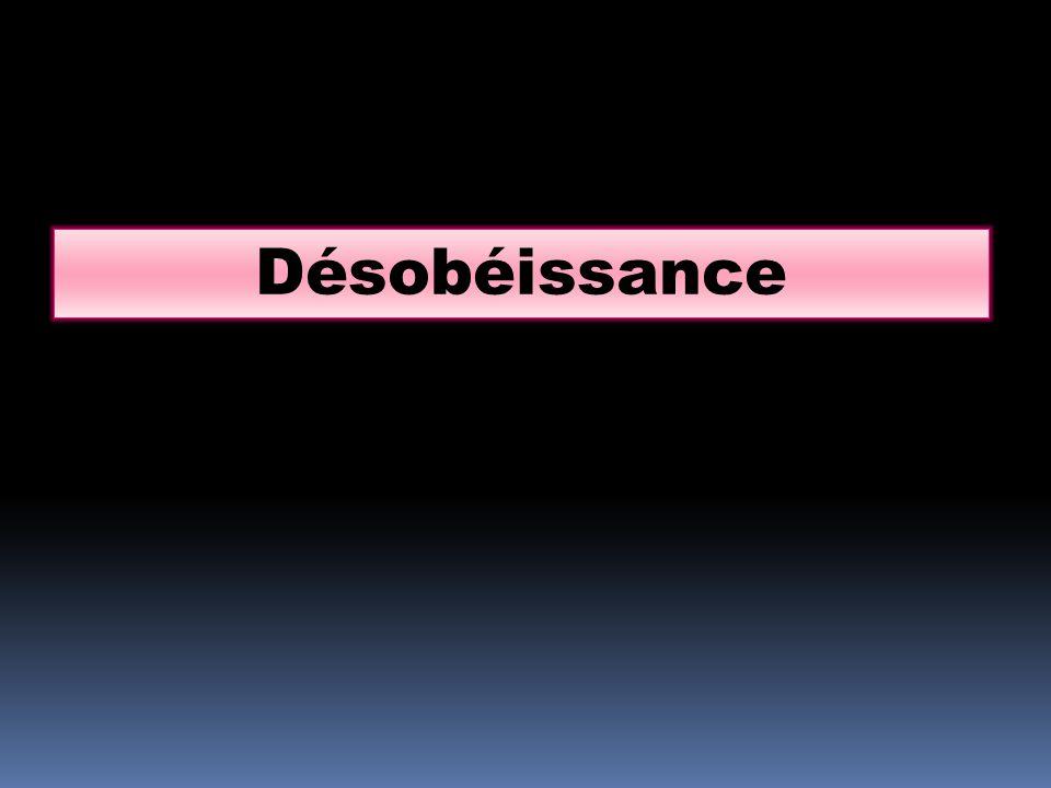 Désobéissance