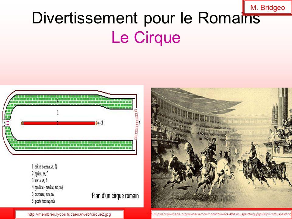 Divertissement pour le Romains Le Cirque