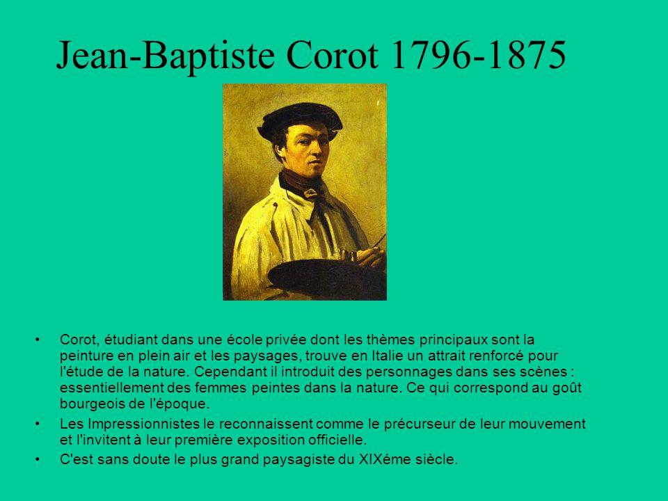 Jean-Baptiste Corot 1796-1875