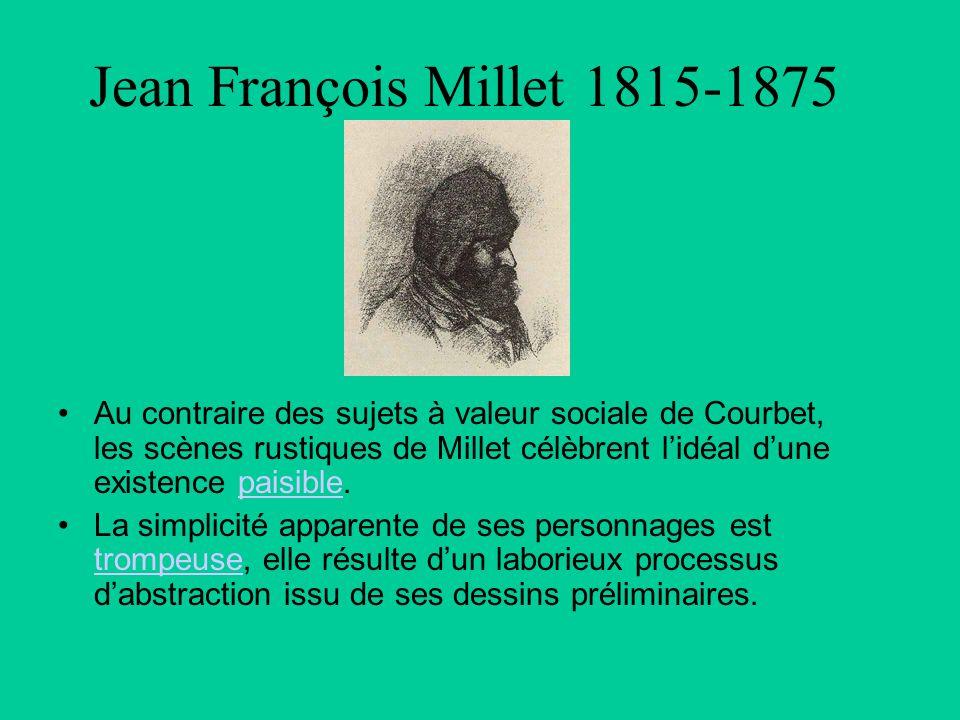 Jean François Millet 1815-1875