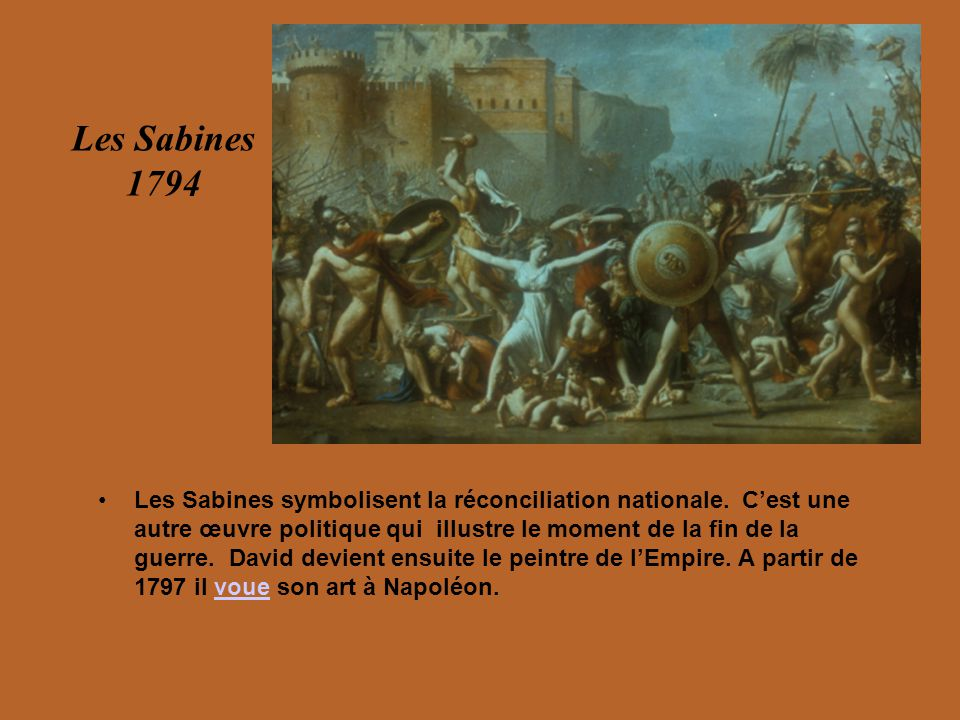 Les Sabines 1794.
